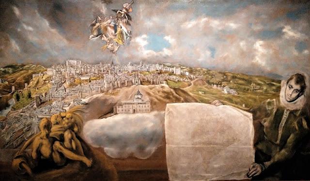 Toledo - Pintura por El Greco