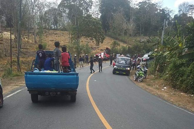 2 Orang Tewas dalam Tabrakan Maut yang Melibatkan Motor dan Mobil di Bone - BONE TERKINI
