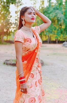nilu shankar singh in saree