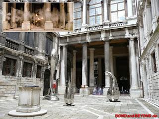 Palazzo Pisani Moretto in Venedig, Location für das Finale