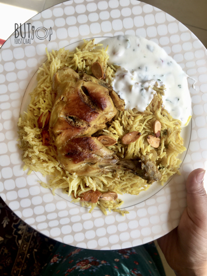 Bahraini Chicken Machboos