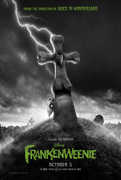 Review Frankenweenie By Tim Burton It S My Genre Baby