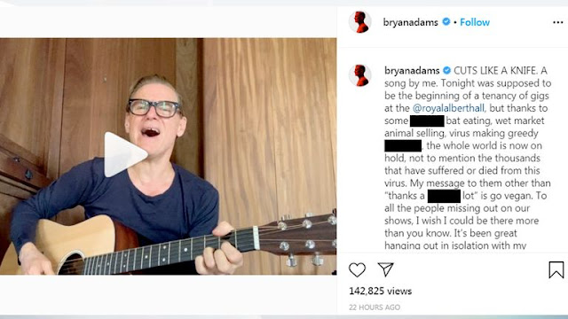 bryan adams chinese post