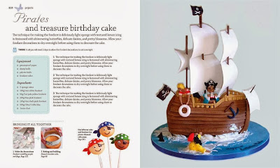 Step-by-Step Cake Decorating  pirate cake
