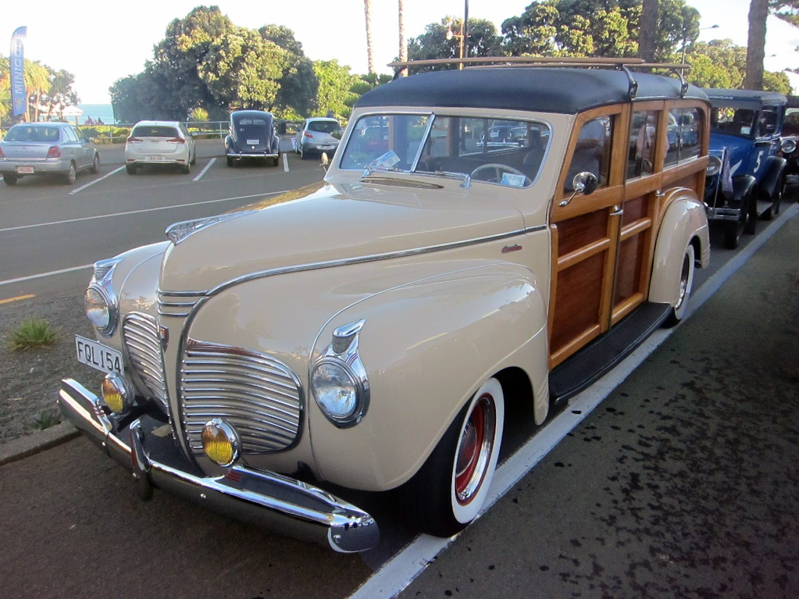 Transpress Nz 1941 Plymouth Deluxe Woody Special Coupe