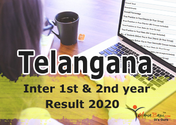 TS Inter 1st & 2nd year 2020 Results