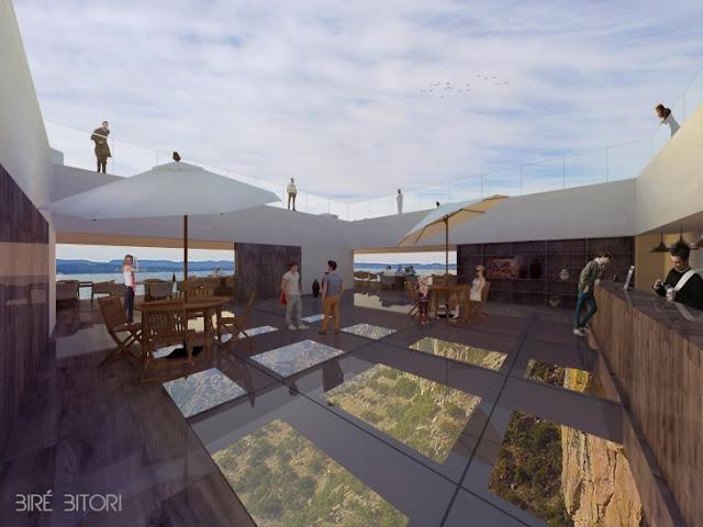 Conoce el increíble y polémico bar con vista a las Barrancas del Cobre
