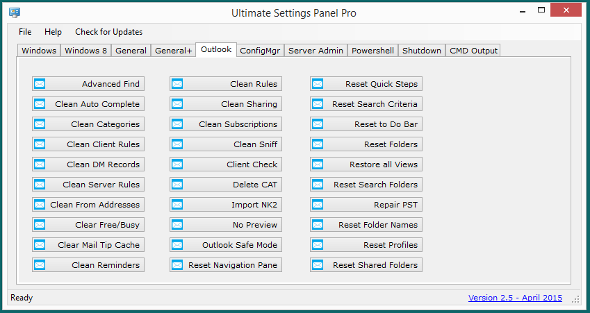 Ultimate Settings Panel Pro version 2.5 Released 7
