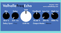 Free Plug-In Download Valhalla — Freq Echo #DailyHeatChecc