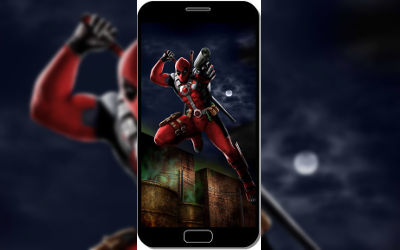 Deadpool Comics Speedpaint Art - Fond d'Écran en QHD pour Mobile