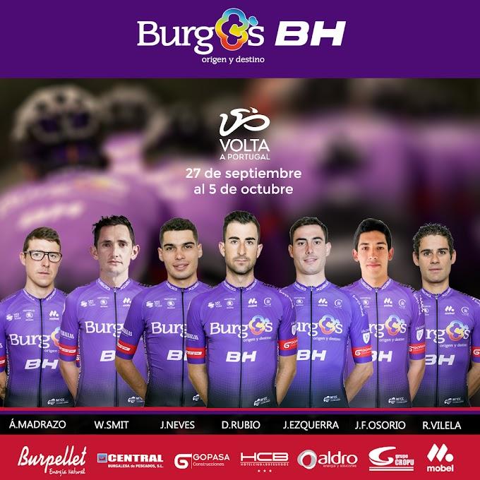 El Burgos - BH presenta los corredores que disputarán la Volta a Portugal