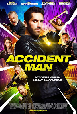 Accident Man 2018 DVD R1 NTSC Latino