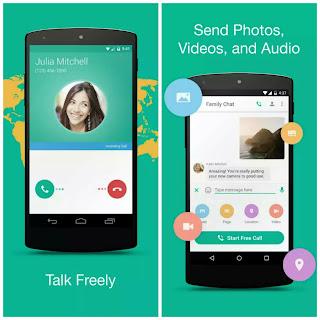 Talk ray best WiFi texting app