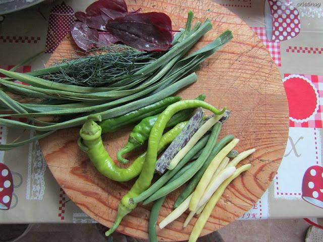 Orez cu păstăi, lobodă, ardei, mărar: Rețetă vegana, fără gluten de Cristina G.