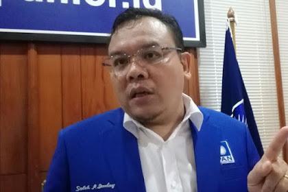 PAN Nilai Andi Arief Tak Bijak Bela SBY-AHY dengan Menyalahkan Prabowo-Sandi