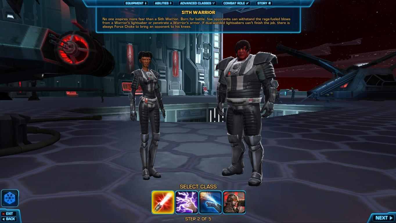 The Old Republic  Phase 1: Making Your Character