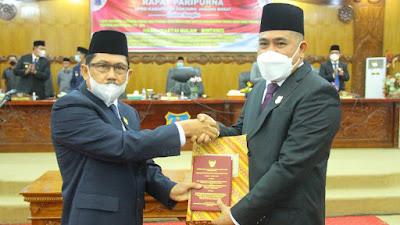 DPRD Tanjab Barat Rapat Paripurna Sumpah Janji (PAW)