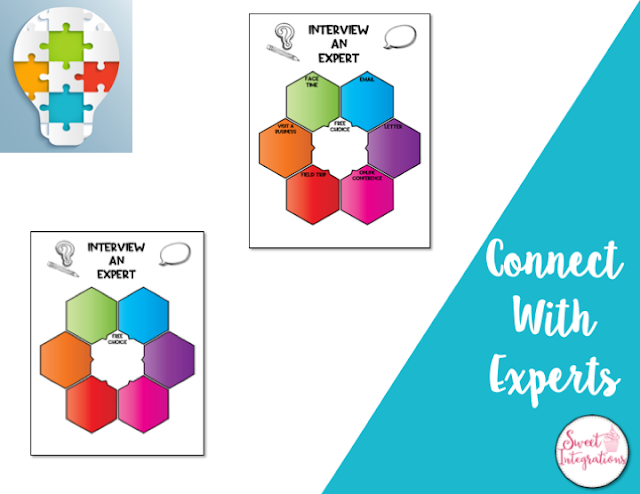 connect with experts with choice board templates