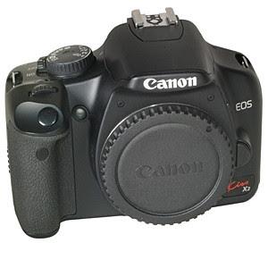 Canon EOS Kiss X2 DSLRファームウェアのダウンロード