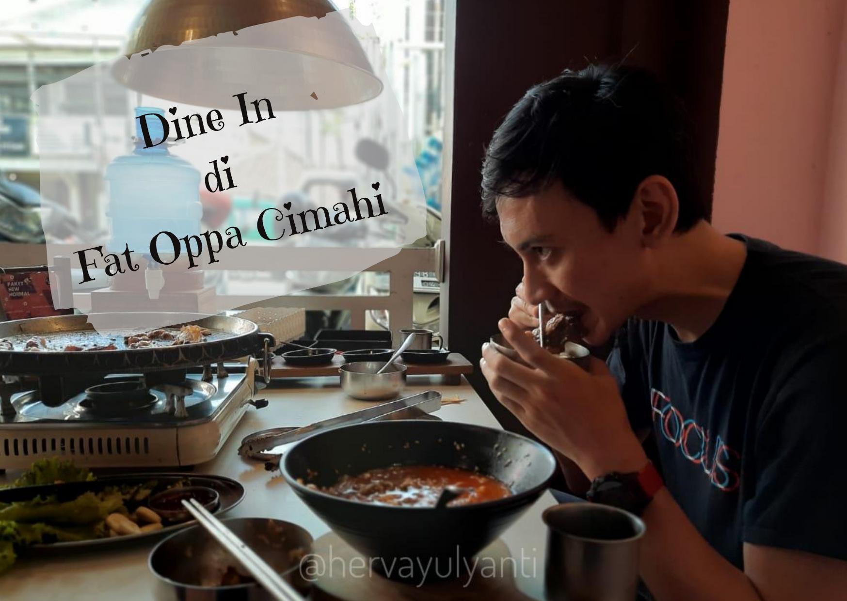 menu new normal fat oppa cimahi