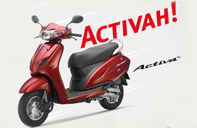 New 2017 Honda Activa 4G automatic scooter
