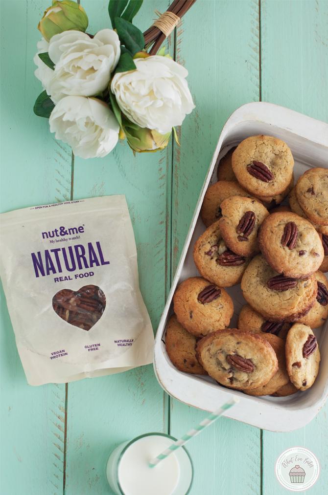 Brown Butter Pecan Cookies (Galletas de mantequilla tostada y nueces pecanas)