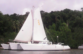 Gay sailing vessel sailboat yacht in Thailand all male