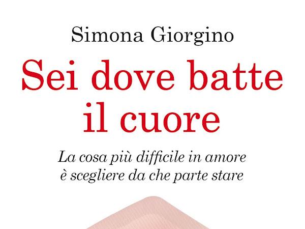 """[INTERVISTA] Simona Giorgino e il suo libro  """"Sei dove batte il cuore"""""""