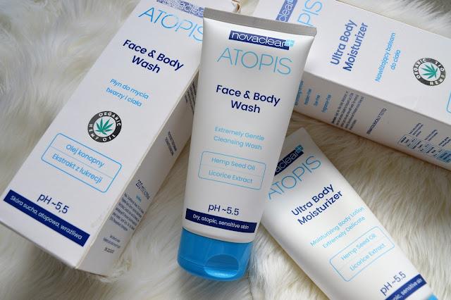 recenzja, pielęgnacja, pielęgnacja ciała, żel pod prysznic, balsam, ATOPIS, novaclear,