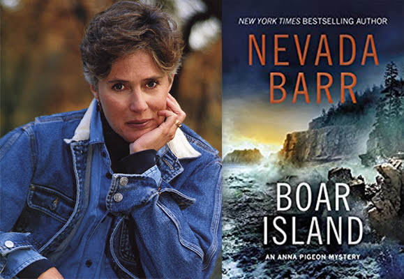 Nevada Barr with Boar Island