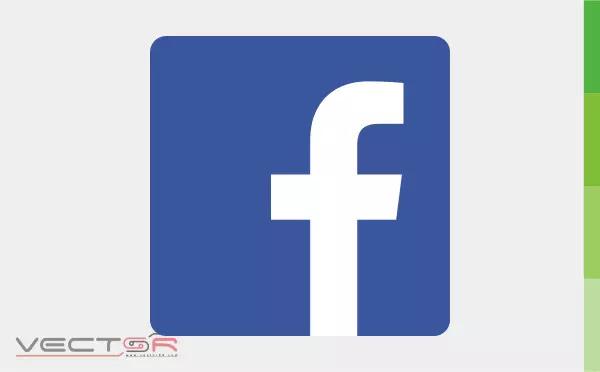 """Facebook """"f"""" (2013) Logo Icon - Download Vector File CDR (CorelDraw)"""