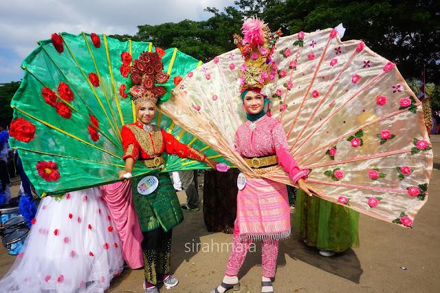 Putri Merak dan Karnaval 17 Agustus