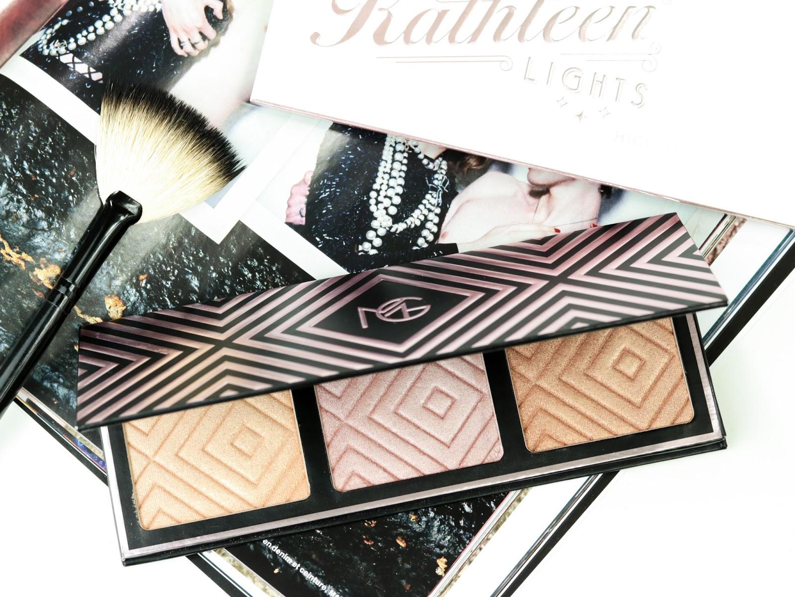 La palette d'highligters Makeup Geek X Kathleen Lights avis et swatch