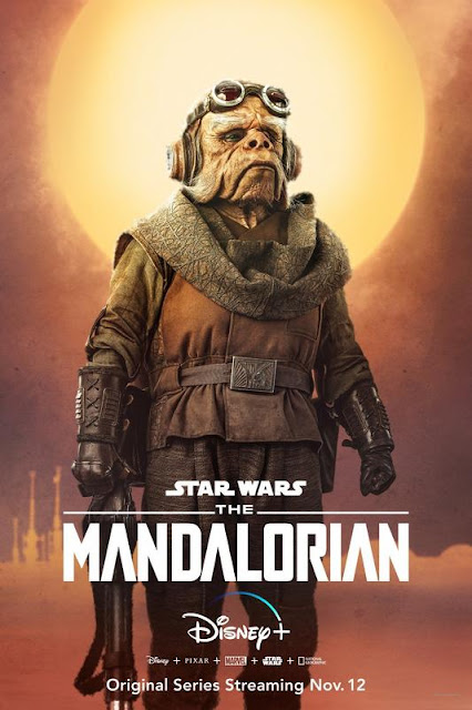 Póster de 'The Mandalorian'