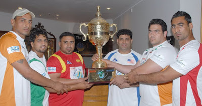 Iran Kabaddi Team in Kabaddi World Cup 2016