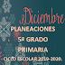 PLANEACIÓN DICIEMBRE 5° PRIMARIA CICLO ESCOLAR 2019-2020.