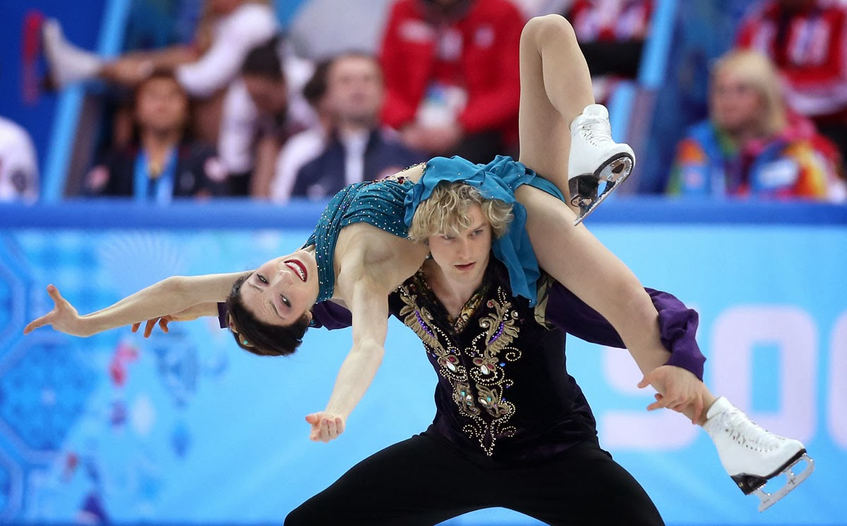 Olympic Ice Dancer Charlie White Is Engaged Partner Meryl: The Many Rantings Of John: Olympic Images Of The Day: Day 4