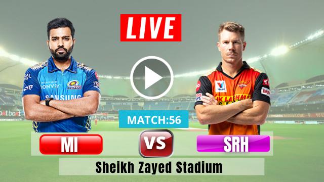 IPL 2020: Hyderabad vs Mumbai, 56th Match