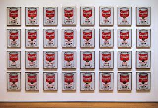 32 банки с супом Энди Уорхола