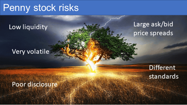Penny stock risks