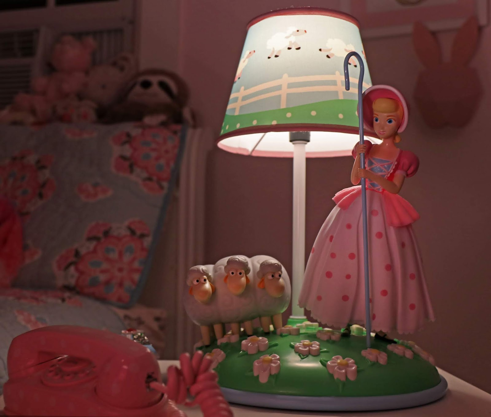 toy story 4 bo peep lamp review target