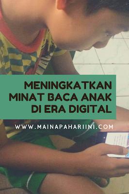 blog banner meningkatkan minat baca anak di era digital