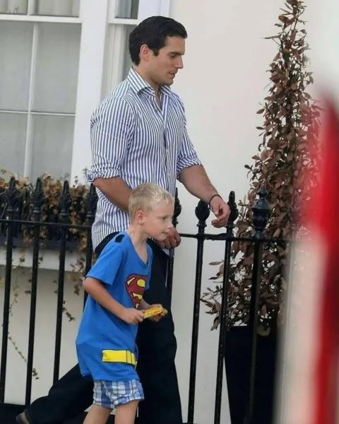 """""""Mi tío es Superman"""": El tierno gesto que hizo Henry Cavill por su sobrino"""