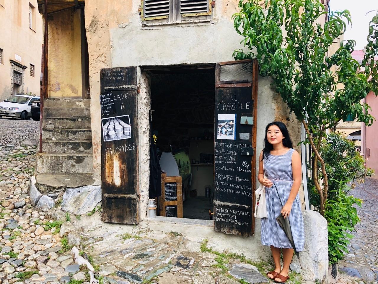 restaurant in corsica, france