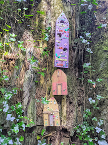 Fairy doors on the Waterford Greenway