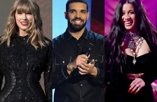 الإعلان عن ترشيحات جوائز الموسيقى الأمريكية لعام 2018
