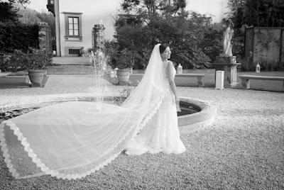 foto sposa bianco e nero