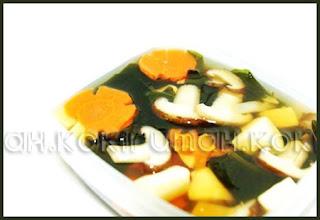 Sup Jamur Rumput Laut
