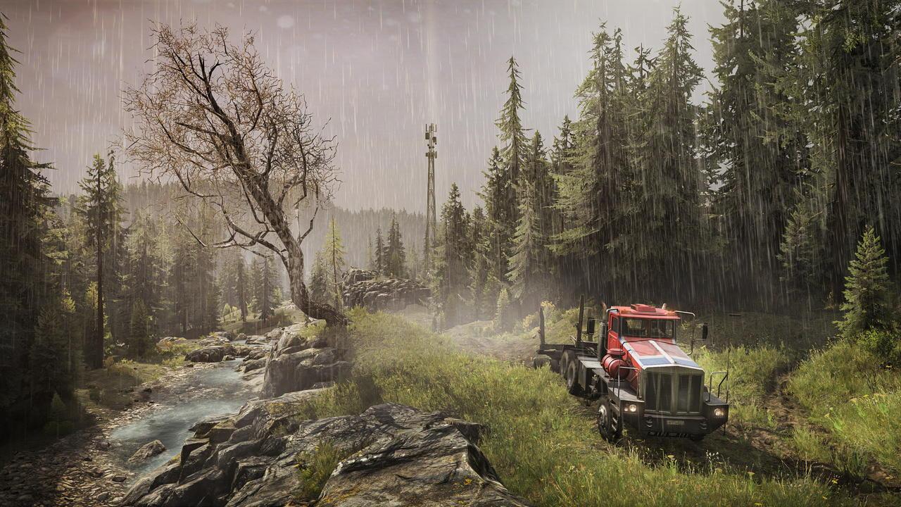 SnowRunner - Season 3: Update kendaraan dan map terbaru