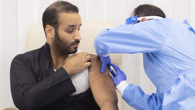 Registrations of Corona Vaccination increased by 5 time within an Hour of Crown Prince received it - Saudi-Expatriates.com